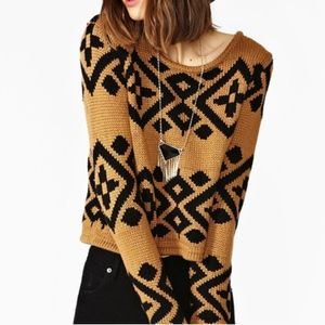 Minkpink Cropped Sweater